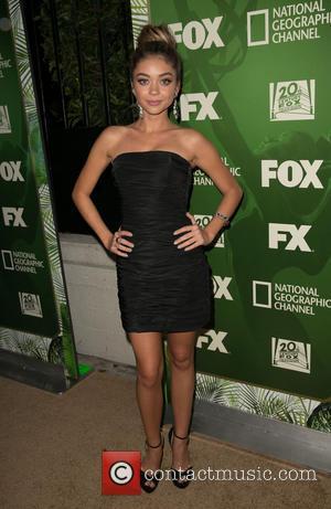 Sarah Hyland - Fox's 2014 Emmy Award Nominee Celebration at Vibiana - Arrivals - Los Angeles, California, United States -...