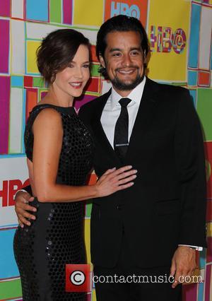 Julie Benz and Richard Orosco