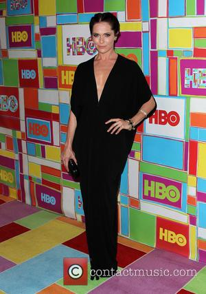 Katie Aselton - HBO's 66th Annual Primetime Emmy Awards After Party - Arrivals - West Hollywood, California, United States -...
