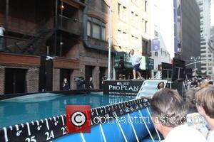 David Letterman and Dock Diving Dogs