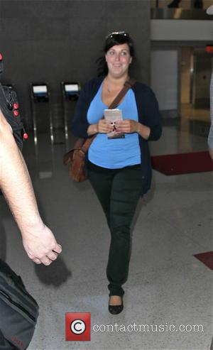 FX's 'Fargo' star, Allison Tolman was photographed boarding a plane departing from Los Angeles International Airport (LAX) in California, following...