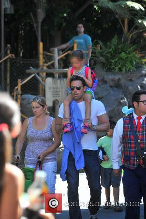 Ben Affleck and Seraphina Affleck - Ben Affleck takes his daughter Seraphina on a Disneyland Adventure. The pair were seen...