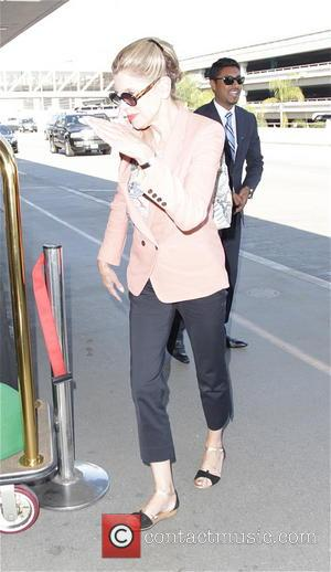 Christine Baranski - 'The Good Wife' star, Christine Baranski was seen leaving a car before catching a plane from Los...