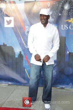 Michael Jordan - A variety of stars including basketball legend Michael Jordan attend day 2 of the 2014 US Open...