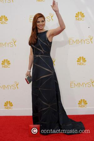 Debra Messing - Glamorous Hollywood A listers took to the red carpet for the 66th Annual Primetime Emmy Awards in...