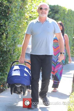 Kelsey Grammer and Kelsey Gabriel Elias - Kelsey Grammer and his family leave Cecconi's after having lunch - Los Angeles,...