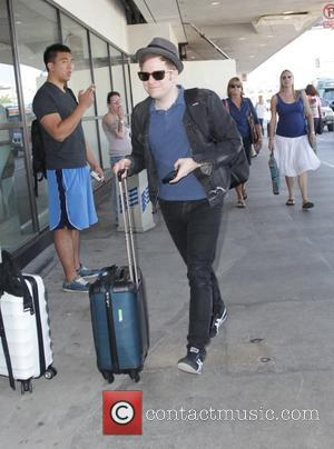 Patrick Stump - Patrick Stump departs from Los Angeles International Airport (LAX) - Los Angeles, California, United States - Wednesday...