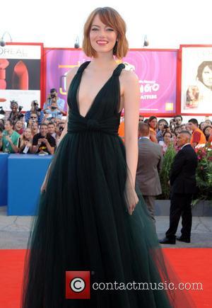 Emma Stone Attends 'Birdman' Premiere At 71st Venice Film Festival [Pictures]