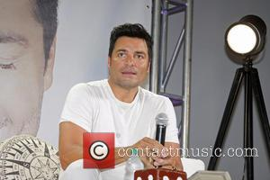 Chayanne - Chayanne continues his promo tour for his new album 'En todo Estare' - San Juan, Puerto Rico -...