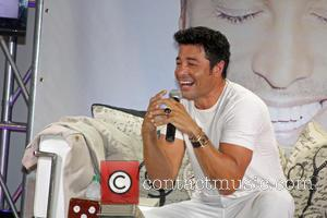 Chayanne - Chayanne continues his promo tour for his new album 'En todo Estare' - San Juan Puerto Rico, Puerto...