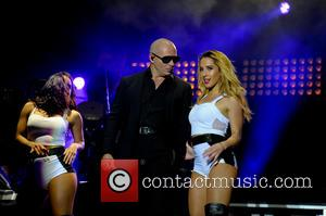 Pitbull - Performances and Atmosphere at Fusion Festival Day One - Birmingham, United Kingdom - Wednesday 27th August 2014