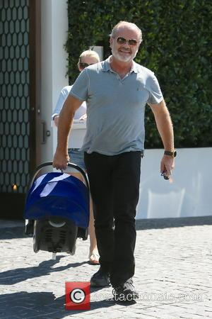 Kelsey Grammer - Kelsey Grammer seen leaving Cecconi's restaurant after having lunch with his family. - Los Angeles, California, United...