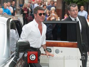 Simon Cowell - X Factor Press Launch held at the Ham Yard Hotel - Arrivals. - London, United Kingdom -...