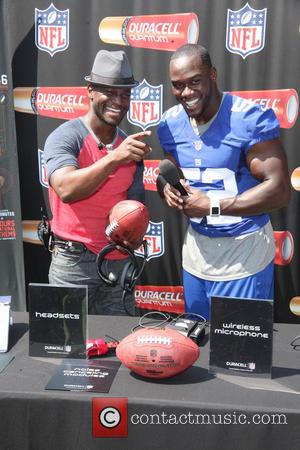 Taye Diggs and Jon Beason
