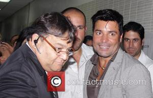Latin pop star Chayanne enjoying himslef while promoting his new record En Todo Estaré in Bayamon, Puerto Rico - Thursday...