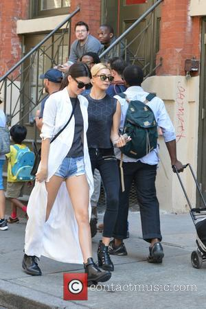 Kendall Jenner and Haily. Baldwin