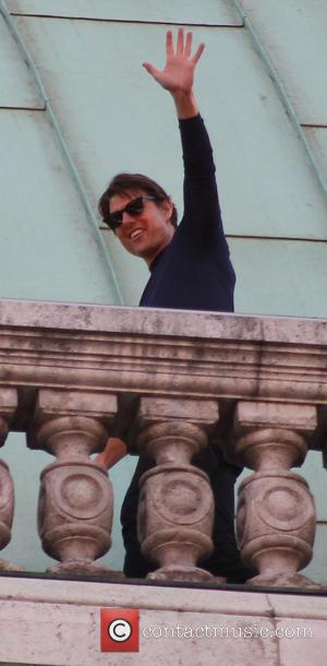 Tom Cruise - On the set of 'Mission: Impossible 5' in Vienna - Vienna, Austria - Thursday 28th August 2014