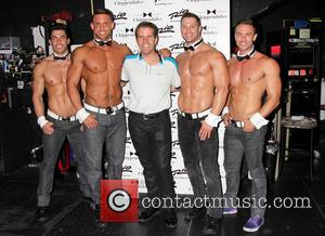 Perez Hilton and Chippendales - Perez Hilton visits 'Chippendales Las Vegas' at the Rio All-Suites Hotel and Casino - Las...