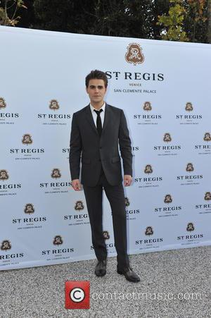 Paul Wesley - Other guests included acclaimed Italian actor Adriano Giannini. The dinner took place in the hotel's beautiful Church...