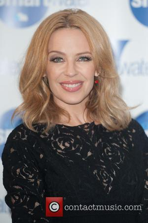 Kylie Minogue - Australian pop star Kylie Minogue who initially found fame acting in Aussie soap opera Neighbours photographed at...