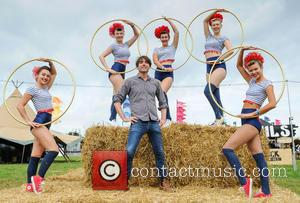 Alex James and The Majorettes - Former bassist of Brit pop band Blur Alex James launches The Big Feastival at...