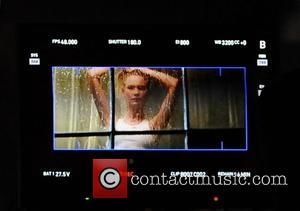 Behati Prinsloo - Adam Levine and wife Behati Prinsloo film scenes for Maroon 5's next single 'Animals' - Los Angeles,...