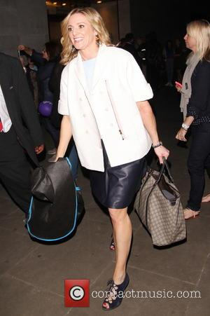 Gabby Logan - 'The One Show' - Departures - London, United Kingdom - Friday 29th August 2014