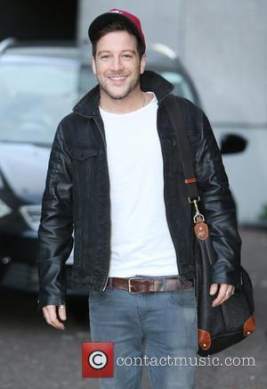 Matt Cardle - Matt Cardle photographed outside the London ITV studios - London, United Kingdom - Friday 29th August 2014