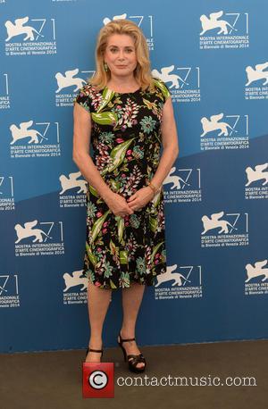 Catherine Deneuve - 71st Venice International Film Festival - '3 Coeurs' - Photocall - Venice, Italy - Saturday 30th August...