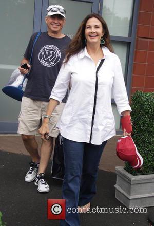 Tennis and Linda Carter