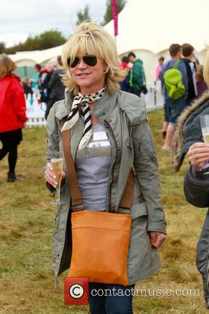 Former Blue Peter presenter Anthea Turner enjoying being single at the Big Feastival - Chipping Norton, United Kingdom - Saturday...