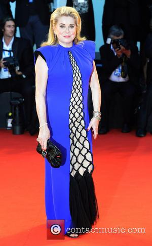 Catherine Deneuve - The cast and crew of French drama '3 Coeurs' and other stars hit the red carpet for...