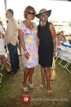 Gayle King and B.Smith - 39th Annual Hampton Classic Horseshow Grand Prix - Bridgehampton, New York, United States - Sunday...