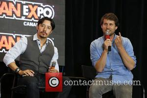 Efren Ramirez and Jon Heder - 2014 FanExpo at Toronto Metro Convention Centre. - Toronto, Canada - Sunday 31st August...