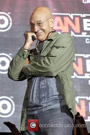 Patrick Stewart - 2014 FanExpo at Toronto Metro Convention Centre. - Toronto, Canada - Sunday 31st August 2014