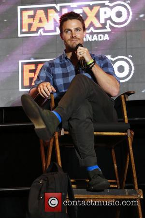 Stephen Amell - 2014 FanExpo at Toronto Metro Convention Centre. - Toronto, Canada - Sunday 31st August 2014