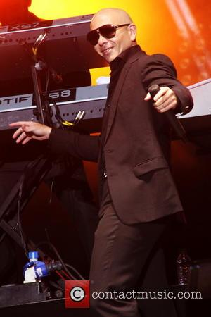 Pitbull - Fusion Festival 2014 - Performances - Pitbull - Birmingham, United Kingdom - Sunday 31st August 2014