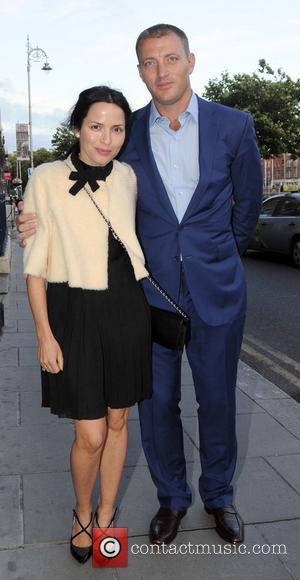 Andrea Corr and Brett Desmond - Various celebrities attended the wedding of former Miss Ireland and TV presenter Pamela Flood...
