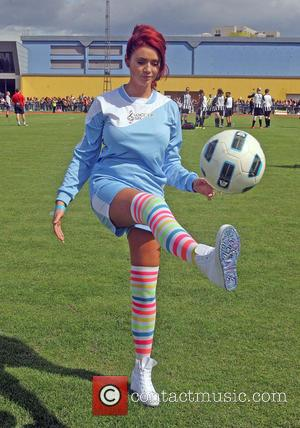 Amy Childs - Soccer SixFest 2014 at Mile End Stadium - London, United Kingdom - Sunday 31st August 2014