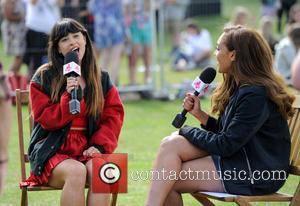 Foxes and Miquita Oliver - Fusion Festival Birmingham 2014 - Day 2 - Performances - Birmingham, United Kingdom - Sunday...