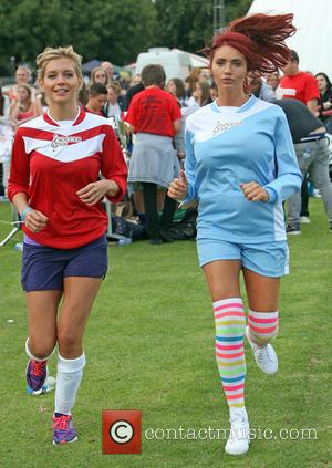 Amy Childs and Rachel Riley