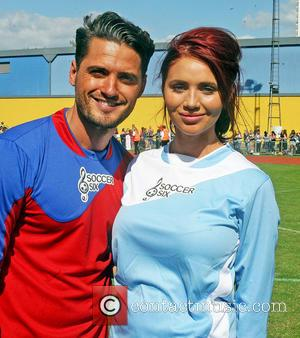 Amy Childs and fab Santoro - Co-presenter of British TV game show Countdown Rachel Riley and former The Only Way...