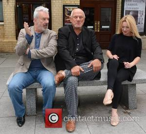 Jay Benedict, Steven Berkoff and Andree Bernard