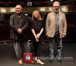Steven Berkoff, Andree Bernard and Jay Benedict