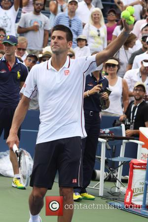 Novak Djokovic - 2014 US Open Tennis Championships - Day 8 - New York, United States - Monday 1st September...