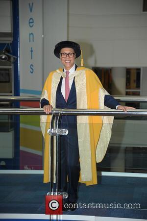 Gok Wan - Fashion guru Gok Wan was photographed in Birmingham City University after receiving an honorary doctorate in fashion...