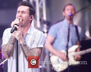 Adam Levine and Maroon 5 - Maroon 5 performing live on the 'Today' show - New York, New York, United...