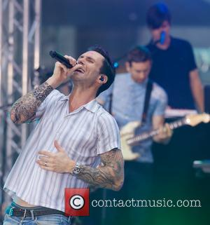Adam Levine - Maroon 5 at the Today show Toyota Concert Series in New York City - New York City,...