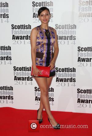 Leah Weller - Scottish Fashion Awards 2014 held at 8 Northumberland Avenue - Arrivals - London, United Kingdom - Monday...