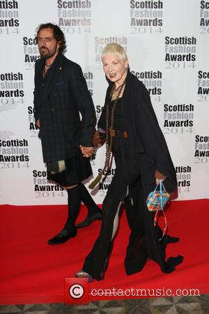 Dame Vivienne Westwood and Andreas Kronthaler - Scottish Fashion Awards 2014 held at 